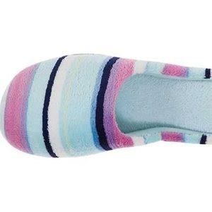 Womens Dearfoams® Memory Foam Slippers